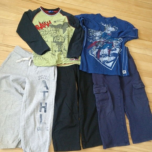 🇨🇦 Boys clothes bundle size 7-8